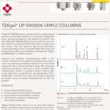 NEW: TSKgel UP-SW2000 columns (working range: 5 – 150 kDa) for the analysis of smaller mAbs, Fabs, peptides and oligonucleotides